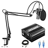 Neewer NW-700 Condenser Microphone Kit with USB 48V Phantom Power Supply, NW-35...