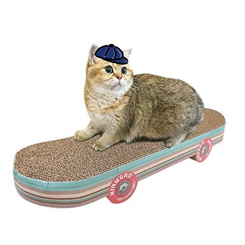 51poHUFWLRL - Votre Chat va Adorer le Skateboard Griffoir pour Faire ses Griffes