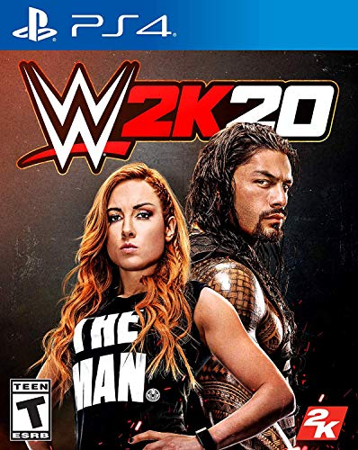 WWE 2K20 PS4 [video game]