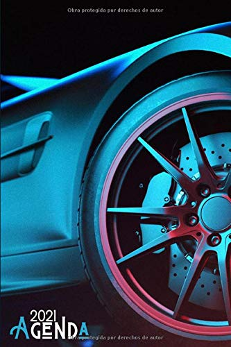 Agenda 2021 Coche deportivo: Agenda 2021 semana vista Coche deportivos - una Semana en dos Páginas - organizador - planificador semanal y mensual 12 ... - regalo para conductor & car driver lovers