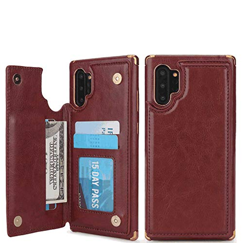 %7 OFF! iPhone 7 Flip Case, Cover for iPhone 7 Leather Extra-Durable Business Kickstand Card Holders...