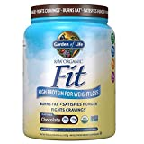 Garden of Life Raw Organic Fit Powder, Chocolate - High Protein for...