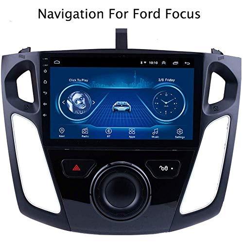 HBWZ Android 8.1 Estéreo Doble DIN Jefe Unidad de Coches para Receptor de Radio Ford Focus 2012-2015 GPS 9 Pulgadas de Pantalla táctil Reproductor Multimedia carplay DSP RDS