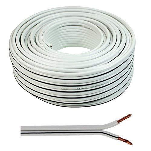Wire4U® - Cable para altavoz 2 x 0