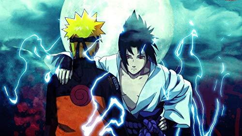 CXVXC Personaje de Anime Naruto,UIUY 1000 Piezas,para Adultos,Máxima Calidad de impresión,Juguetes clásicos Rompecabezas, DIY Rompecabezas para Adultos