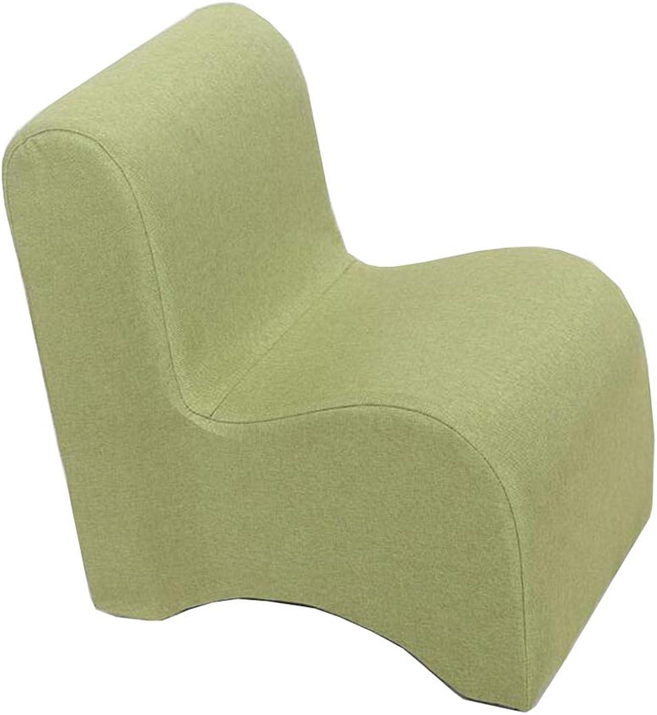 con 60% de descuento DLDL Baby Back Mini sofá sofá sofá Silla Kindergarten Silla de Madera Maciza (Color   verde)  preferente