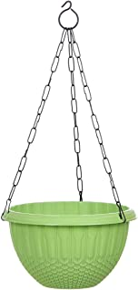 AASHU Hanging planters with Chain {Green} Pack of-1