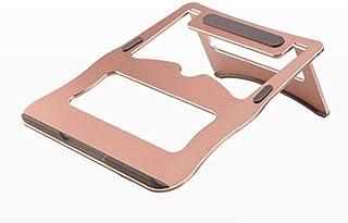 Soporte para computadora portátil Soporte de escritorio para aumentar el estante Estante de enfriamiento de aleación de al...