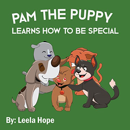 Pam the Puppy Learns How to Be Special  By  cover art