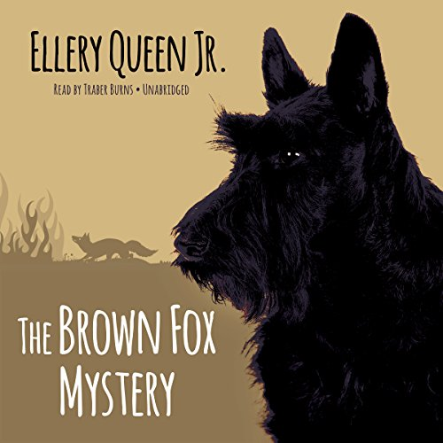 The Brown Fox Mystery audiobook cover art