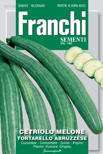 Seeds of Italy Ltd. Franchi Graines de Concombre Tortarello abruzzese