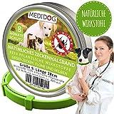 Medidog Natürliches Zeckenhalsband (Hund/Katze S)