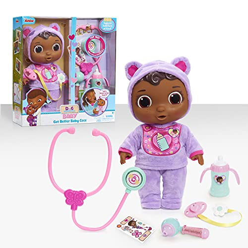 Doc McStuffins Disney Junior Get Better Baby Cece, Multi-Color (92058)