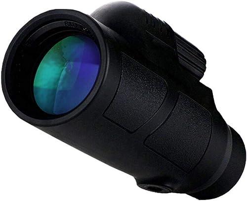 Super Clear 12x50 Monokular-Teleskop, Dual-Fokus-Optik Zoom Portable Monocular (Telefon Adapter und Stativ)