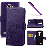 COTDINFOR LG G4 Case Wallet Bookstyle Pu Leather Flip