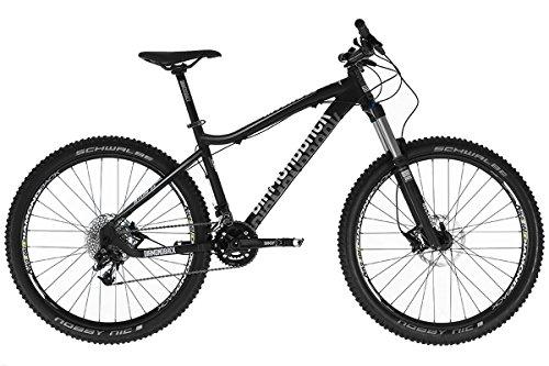 Diamondback Myers 2.0–Enduro Fahrrad, Schwarz/Weiß, Unisex, schwarz/weiß, 17