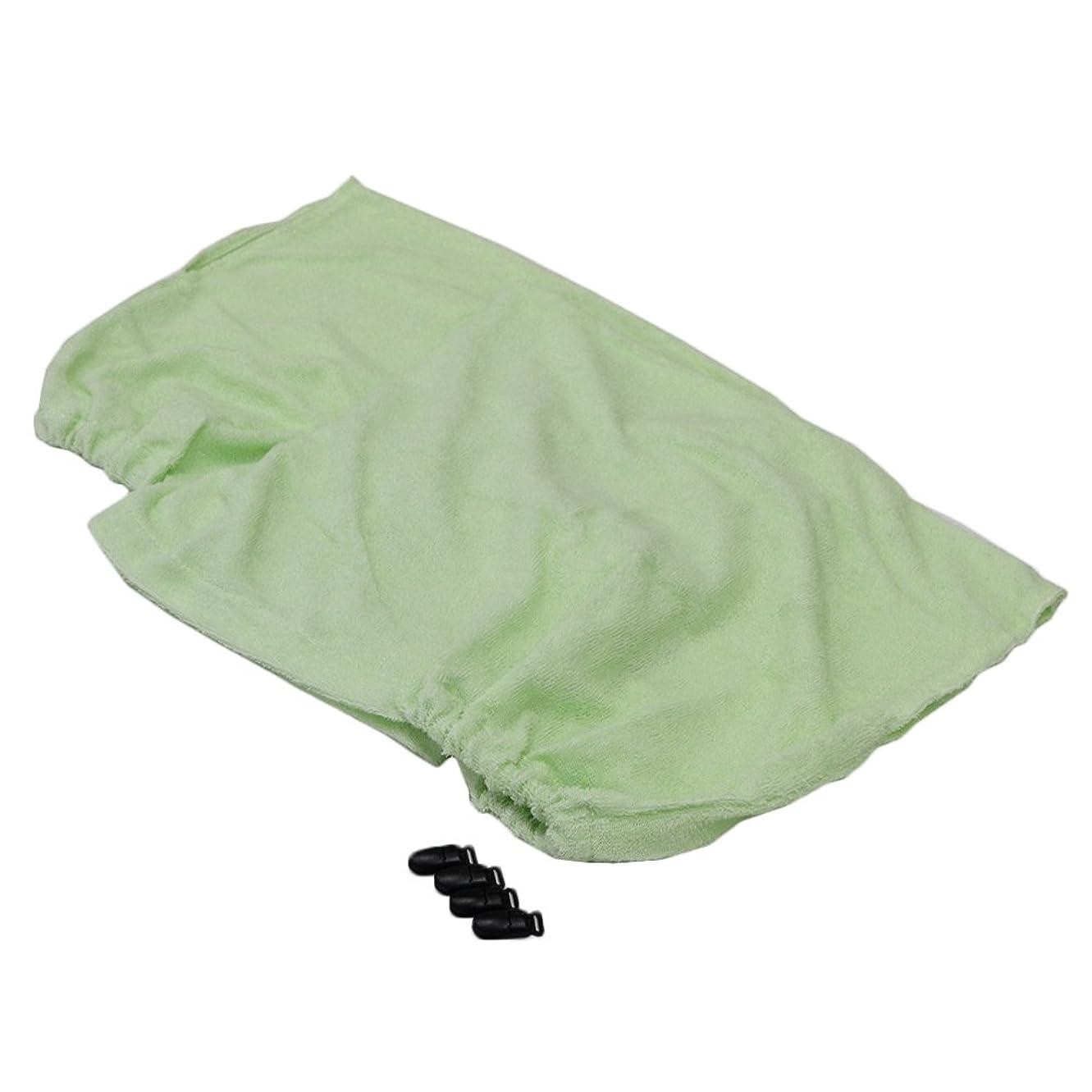 最愛の前兆汚物(セシール)cecile 衿カバー 「汚れやすい部分だけ、洗えちゃう!」綿100%パイルのマイヤータオル衿カバー ミントグリーン シングル CR-842 CR-842