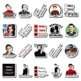 20 PCS Stickers Pack Mentally Aesthetic Dating Vinyl Tom Colorful Holland Waterproof for Water Bottle Laptop Bumper Car Bike Luggage Guitar Skateboard