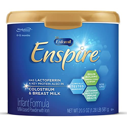Enfamil Enspire Baby Formula with Immune-Supporting Lactoferrin, Brain Building DHA, 5 Nutrient...