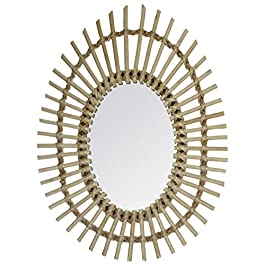 Atmosphera – Miroir rotin Ovale