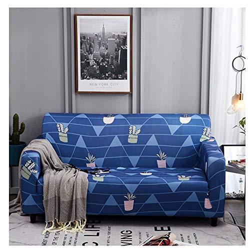 empty All-Inclusive-Schutz Schonbezug Möbel, Wohnzimmer Sofa Schonbezug, Topfpflanzen Blumenmuster 235x300cm