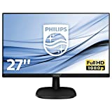 Philips 273V7QJAB 27-Inch IPS Full HD Monitor with Speakers -
