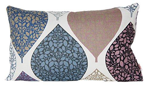 """beties """"Momente"""" Kissenhülle ca. 30x50 cm Kissenbezug in interessanter Größenauswahl hochwertig & angenehm 100% Baumwolle Farbe (Hortensie)"""