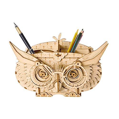 Jigsaw Puzzles 6 Kinds Puzzles DIY 3D Wooden Animal Building Printer Game Assembly Toy Gift For Children Kids Adult Model Kits