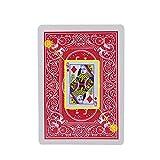 RUIGIN Marcó Cartas de Magic Jugar, Trucos de Magia Secreta Marcado Cartas de póquer, Adulto y Ver a través de la Perspectiva de Poker Juguetes mágicos, 2 Set