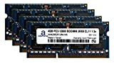 Adamanta 16GB (4x4GB) Laptop Memory Upgrade for Toshiba Qosmio X875-Q7390 DDR3 1600Mhz PC3-12800 SODIMM 2Rx8 CL11 1.5v Notebook RAM