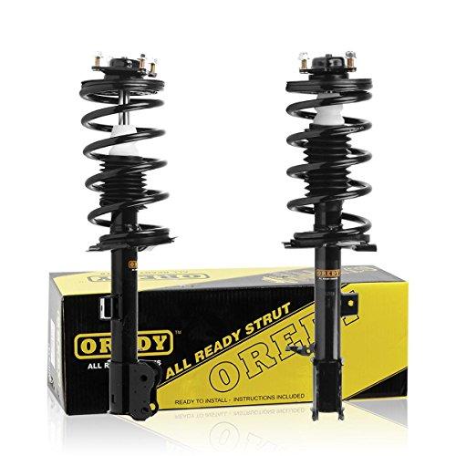 OREDY Front Struts 2PCS Coil Spring Suspension Shocks Struts Complete Struts...