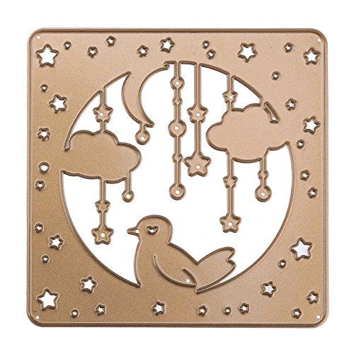 Demiawaking Sterne Wolke Stanzformen Schablonen Sammelalbum Prägen DIY Craft Album Karte
