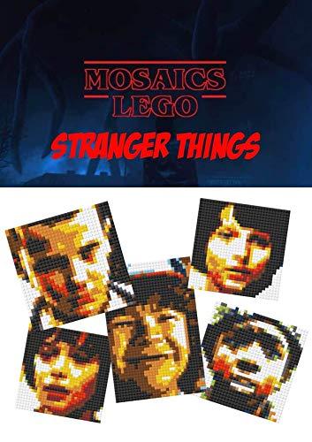 Stranger Things LEGO Mosaics (English Edition)