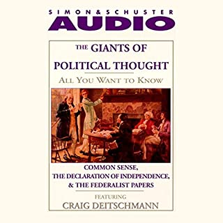 All You Want to Know About Giants of Political Thought audiobook cover art