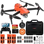 Autel Robotics EVO 2 Pro Drone 6K HDR Video for Professionals Rugged Bundle with $498 Value Accessories Kit (2021 Newest Ver.)