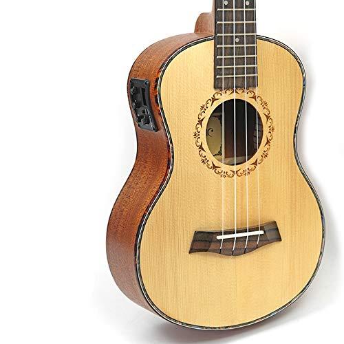 BERYLSHOP Ukelele soprano de 26 pulgadas Guitarra hawaiana Chapa de abeto Versión...