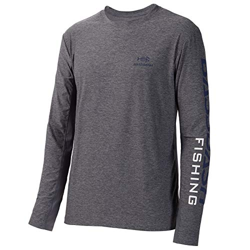 Bassdash Angeln T-Shirt Fishing Shirt Langarm Hemd Fischerhemd Angelbekleidung UPF UV Sonnenschutz