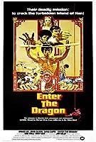 Enter The Dragon 映画ポスター (27 x 40インチ - 69cm x 102cm) (1973) (スタイルC)