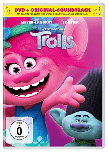 Trolls (DVD) + Original Soundtrack (CD) - Exklusiv Amazon.de [Alemania]
