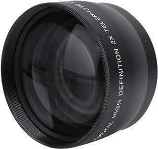Zouminyy Teleconvertor, Telephoto Lens, Cameras Accessory 58MM 2X Magnification Teleconverter Telephoto Lens for Photograp...