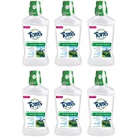 6-Pack Tom's of Maine Wicked Fresh! Cool Mountain Mint Mouthwash 16 Oz