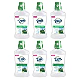 Tom's of Maine Wicked Fresh! Mouthwash, Mouthwash, Natural Mouthwash, Cool Mountain Mint, 16 Ounce, 6-Pack