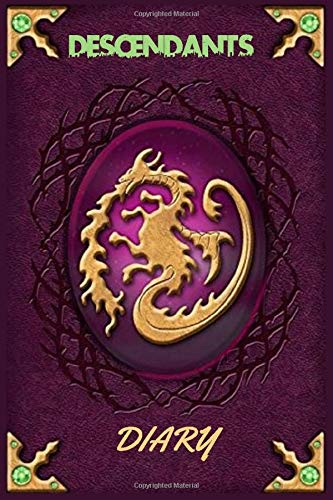 descendants: Mals Diary Journal Book Ultimate journaling book for Girls