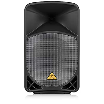 Behringer Eurolive B115MP3 Active 2-Way 15  PA Speaker System with MP3 Player Wireless Option and Integrated Mixer