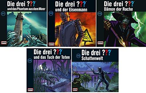 Die Drei ??? (Fragezeichen) - Folge/CD 171-175 im Set - Deutsche Originalware [7 CDs]