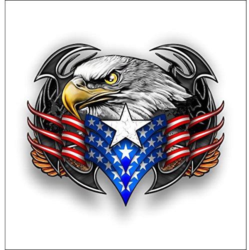 American Tribal eagle sticker / decal