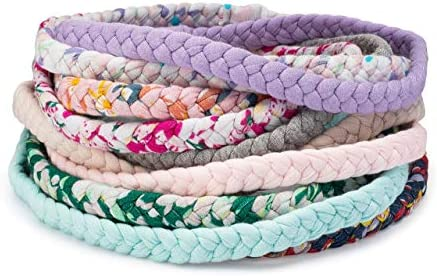 Parker Baby Toddler Girl Braided Headbands Assorted 10 Pack of Hair Accessories for Girls The product image
