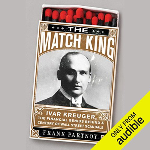The Match King audiobook cover art