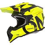 O'NEAL | Casco de Motocross | MX Enduro | ABS Shell, Estándar de Seguridad ECE 2205, Óptima ventilación y refrigeración | 2SRS Youth Helmet Slick | Niños | Negro Neón Amarillo | Talla M