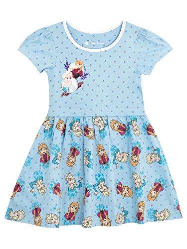 Disney Mädchen Die Eiskönigin Frozen Kleid 110